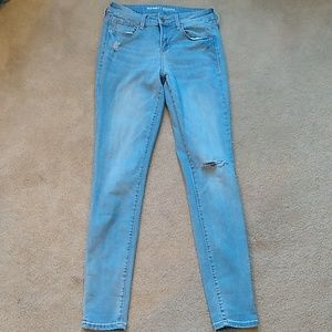 Old Navy Mid-Rise Skinny Stretch Jeans. Size 2